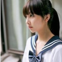 穿学生装的美女QQ头像图片 校服控专属