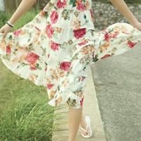 很清新的唯美的穿裙子的女生头像图片