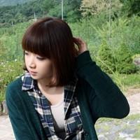 超爱卖萌的韩国模特恩典头像图片