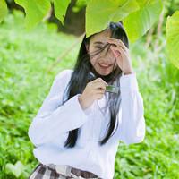 清新的森系风格女孩头像 很清纯很唯美哦!