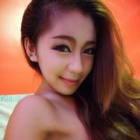 很养眼的性感女模特生活中自拍的QQ头像截图