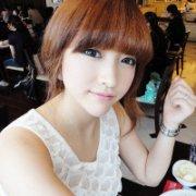 好看的韩范女生QQ头像:笑出来才能疏解心情
