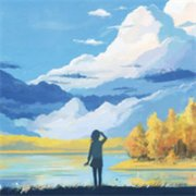唯美可爱的卡通女生QQ头像:爱上你的那个秋天是一段旅程