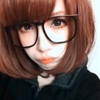 戴眼镜的90后萌妹纸QQ头像 萌翻全场