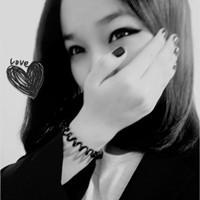 黑白风格QQ群女生头像