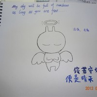 网友自己原创的QQ手绘兔斯基头像