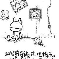 兔斯基动态QQ头像