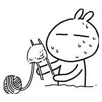 比较雷人的兔斯基非主流QQ头像