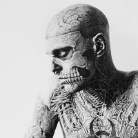 重口味恐怖的僵尸男生头像 欧美雷人范儿