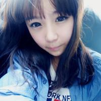 有点呆呆的网络美女张依依阿宝色QQ头像