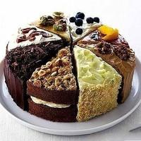 阿宝色好看的巧克力蛋糕头像