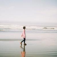 冬季伤感与海相关的女头像_幸福的烦恼想你睡不着
