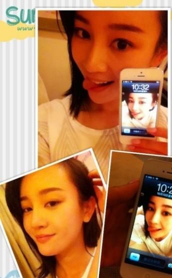 张檬QQ皮肤 女演员张檬QQ透明皮肤图片