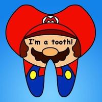 卡通牙齿QQ头像图片