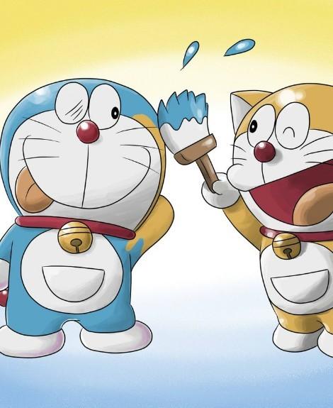 机器猫QQ皮肤 哆啦A梦机器猫QQ透明皮肤图片