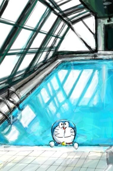 机器猫qq皮肤 哆啦a梦机器猫qq透明皮肤图片(5)