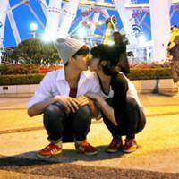 QQ头像情侣接吻专用 非主流范儿