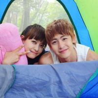 韩国明星情侣维尼夫妇QQ头像 你们羡慕他们的爱情吗