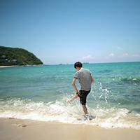 qq男生海边背影头像 男生海边意境头像图片