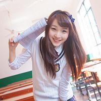 小清新女生穿校服的QQ头像,征集全国各高校女神头像