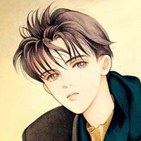 冷峻风格的漫画男生头像,无法隐藏帅气