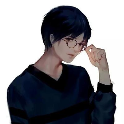 2018微信头像男生动漫帅气 谈恋爱是什么我只爱吃饭