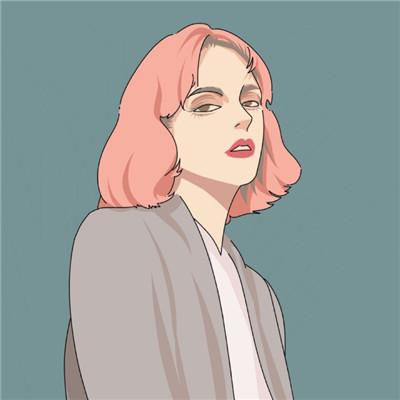 简单清晰美美的女生素描头像2018 做你想做的错了算我