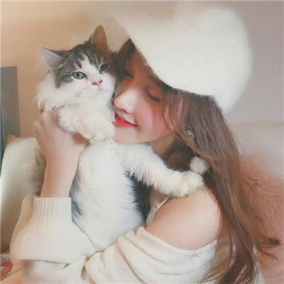 2018女生唯美可爱戴帽子头像大全 一个人照样可以笑得