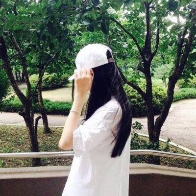 韩国热门好看女生微信背影头像 我冷酷无情全都拜你所