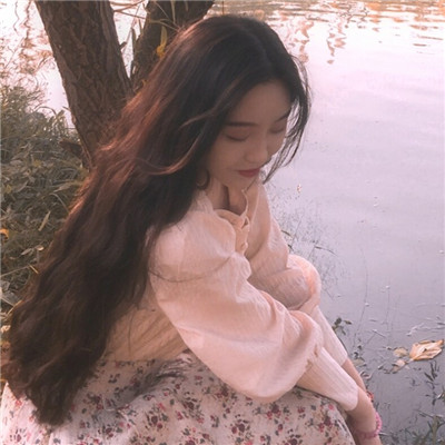 唯美女生长发闺蜜头像大全2018 你是一个美丽而又忧伤图片