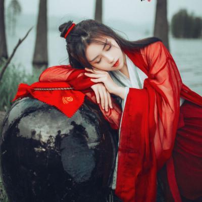 最新女生招桃花的古风微信头像 寓意好的唯美女生头像2018