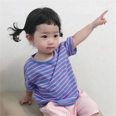 2018最火女生萌娃图像大全可爱 喜欢笑的女孩胸都很大