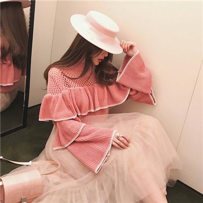玫粉色系列头像女生最新高清图片 正因为时世艰难你要