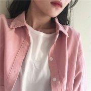 玫粉色系列头像女生最新高清图片 正因为时世艰难你要等着我