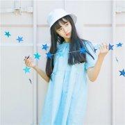 最新2018梦幻蓝唯美有意境女生头像 是谁在明月下独奏一曲离殇