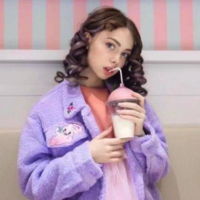 2018qq头像女生欧美范时尚俏皮可爱 总是不长记性地过分期待