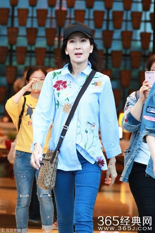 娱乐新闻    日期,曾出演《新白娘子传奇》中小青一角的陈美琪现身