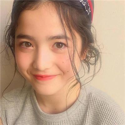 超甜超可爱的日本妹子头像 我不够好我只想着和你闹