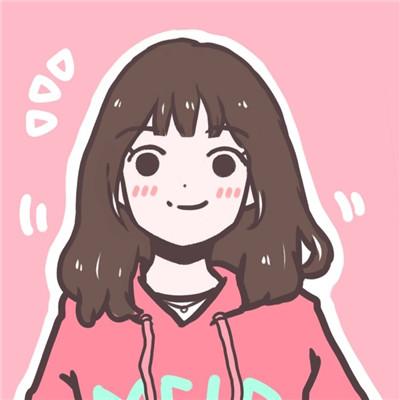 可爱女生素描手绘头像2018 你一直是我最温暖踏实的一