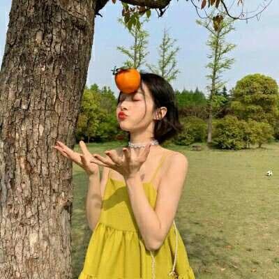 最新森林系清新女头像