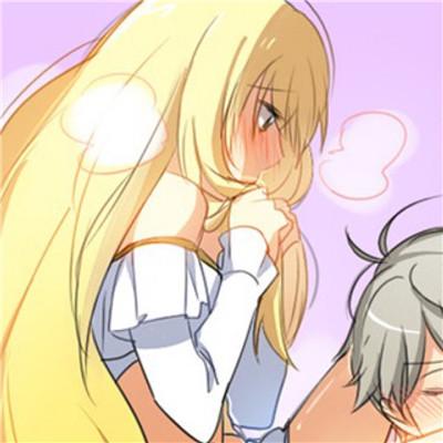 我爱你有种左灯右行的冲突  好看的动漫情侣头像