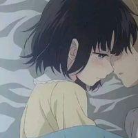 一个人若能令你安心,定能教你温柔  甜蜜的动漫情侣头像