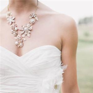 非常精致的项链图 欧美女生戴项链头像