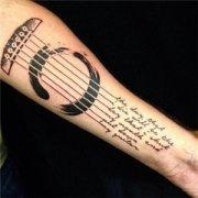 把这个乐器送给你最爱的人 欧美纹身头像