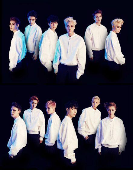 EXO最新专辑照,让我们一起期待EXO的comeback show