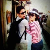 何炅和谢娜的两人QQ头像,炅娜组合的完美默契