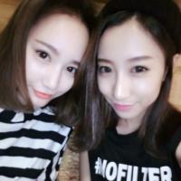 QQ姐妹头像两张分开的,情谊似海深