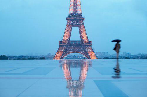 埃菲尔铁塔唯美图片