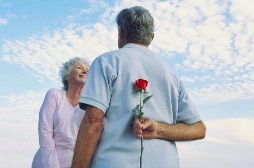 老年人情侣图片