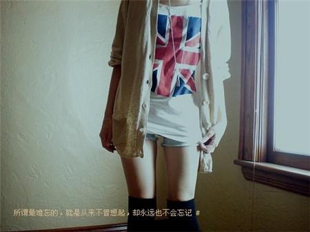 小清新女生文字�D片